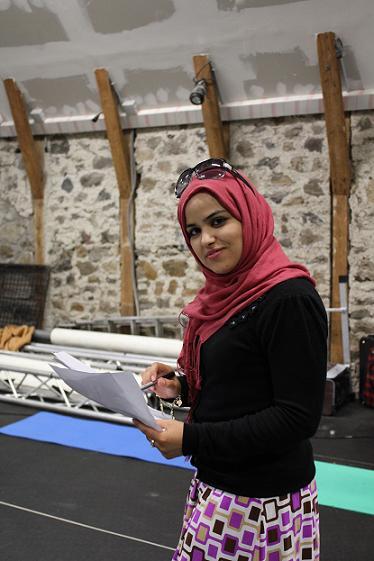 Portrait de Rahma.
