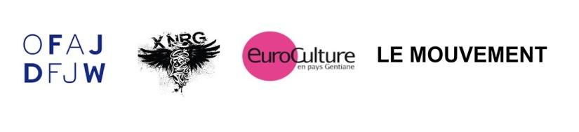 Logos OFAJ, XNRG, Euroculture, Le Mouvement